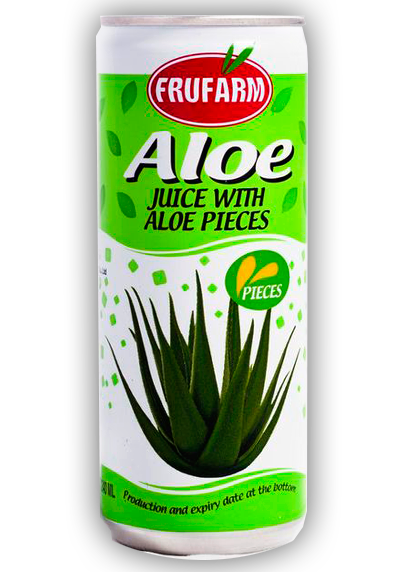 Aloe with pieces