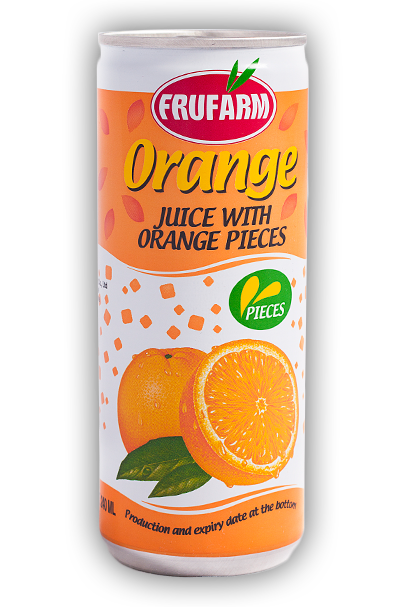 Портокал с парченца плод