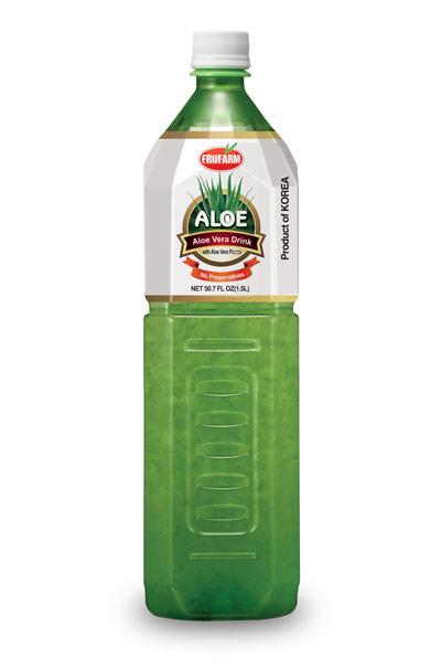 Алое с парченца плод PET 1.5 л